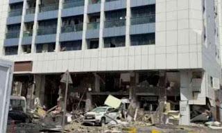 ابوظبي، انفجار، روسيا اليوم، حربوشة نيوز
