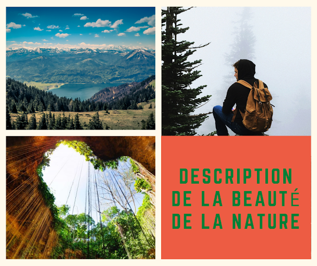 Description de la beauté de la nature