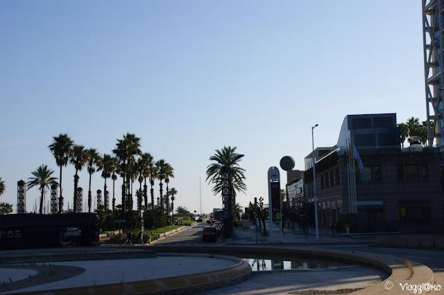 Quartiere del Port Olimpic di Barcellona