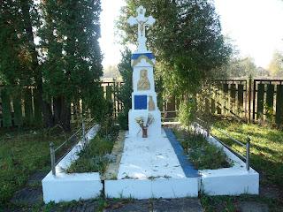 Задеревач. Стрыйский р-н, Львовская обл. Памятный крест погибшим на полях сражений