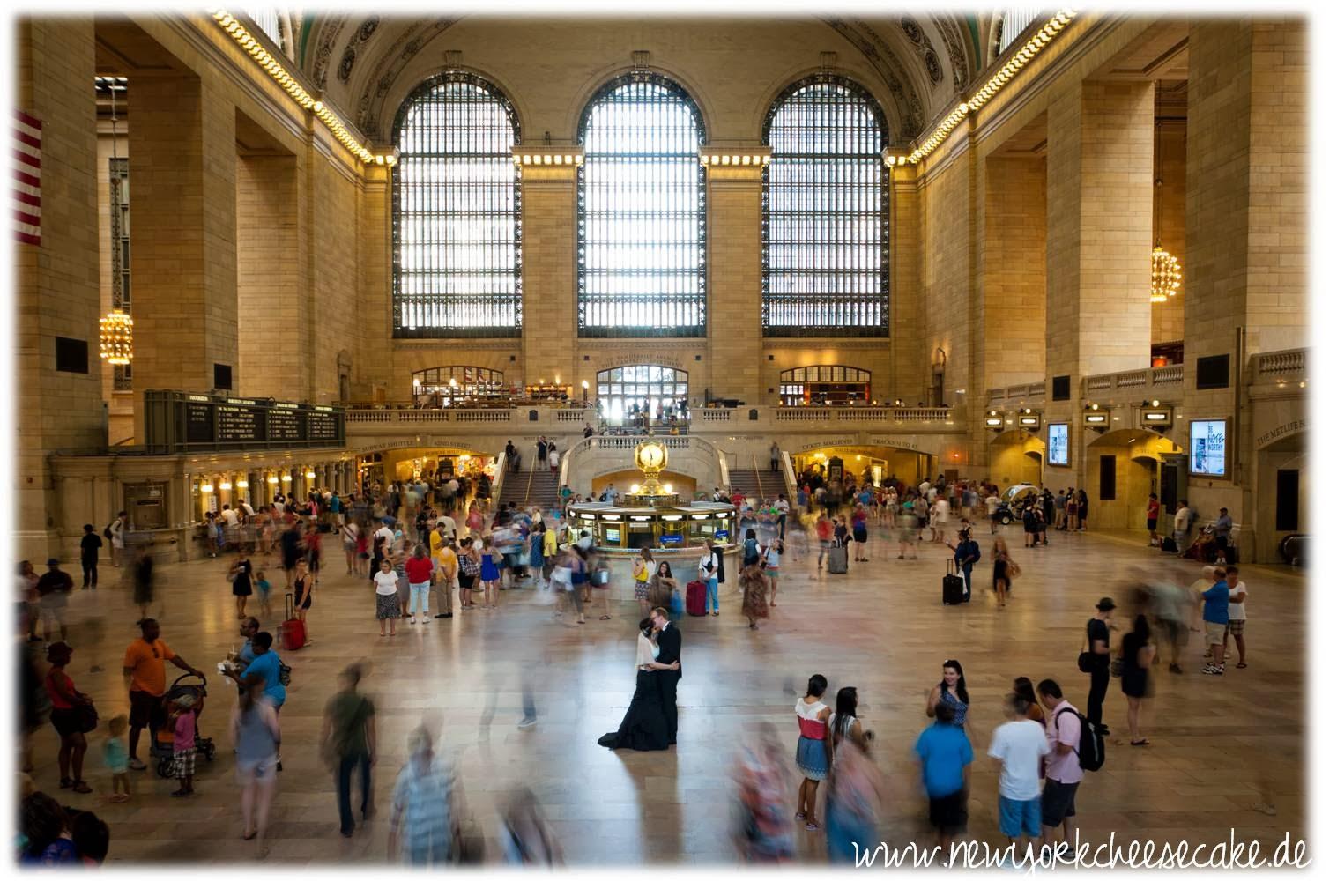 New York, heiraten, Grand Central Station