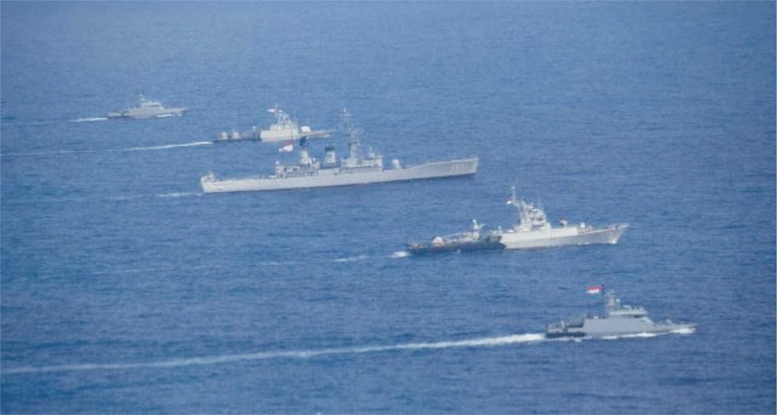 AL Indonesia dan Singapura latihan bersama atasi ancaman teroris di Laut