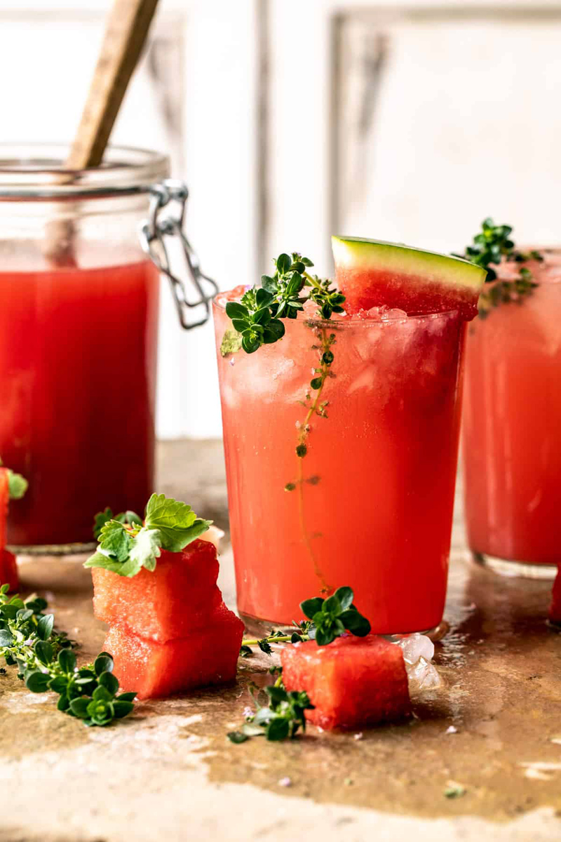 Pink Vodka Watermelon Lemonade
