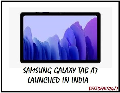 Samsung Galaxy Tab A7 Launched in India