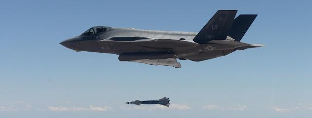 Integran la nueva bomba nuclear B61-12 en el arsenal del caza F-35A.