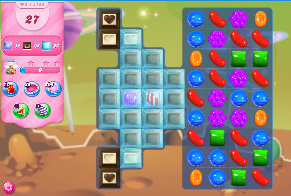 Candy Crush Saga level 4780