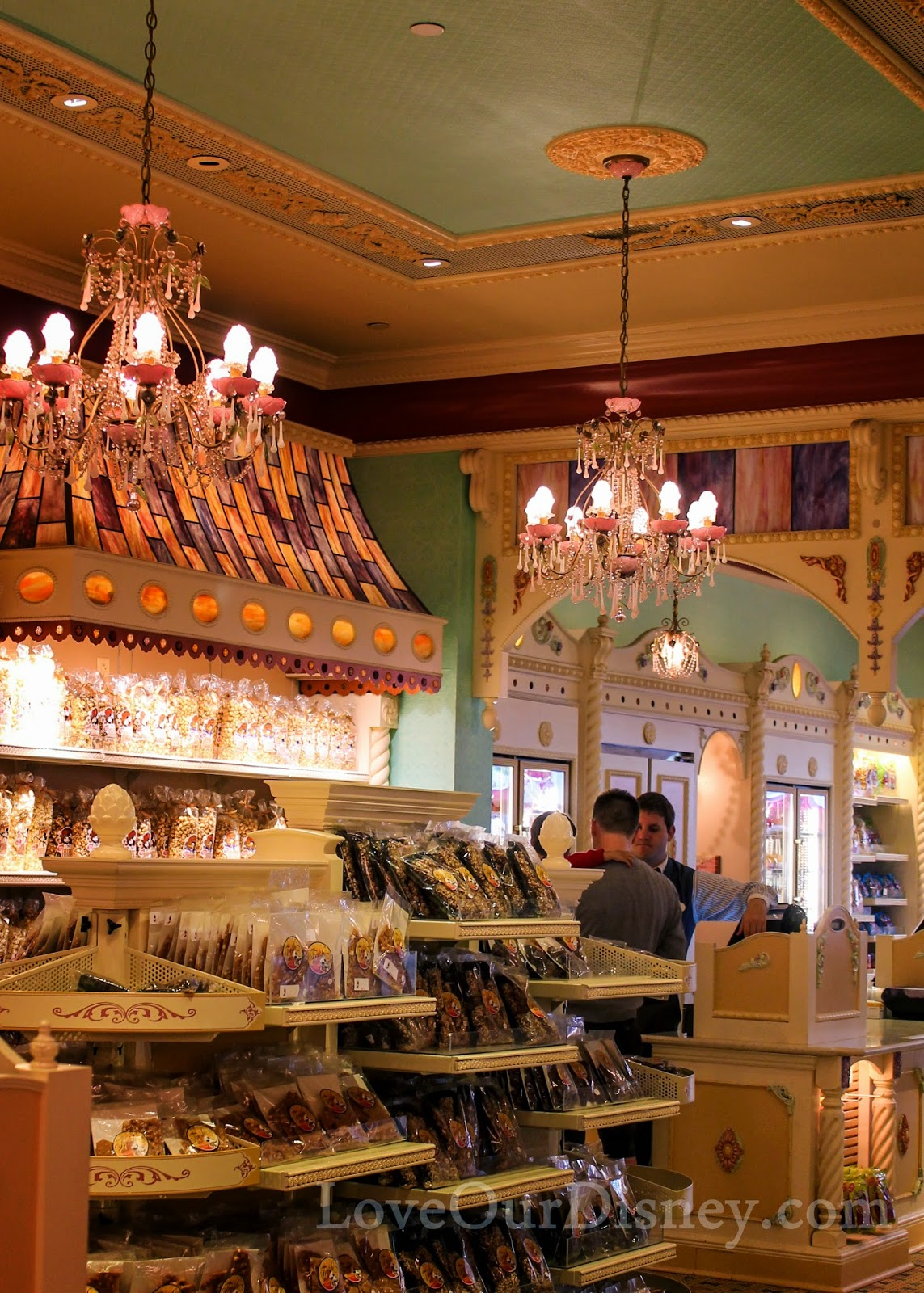 Wouldn't Disneyland's Candy Palace make a great photo session location? LoveOurDisney.com