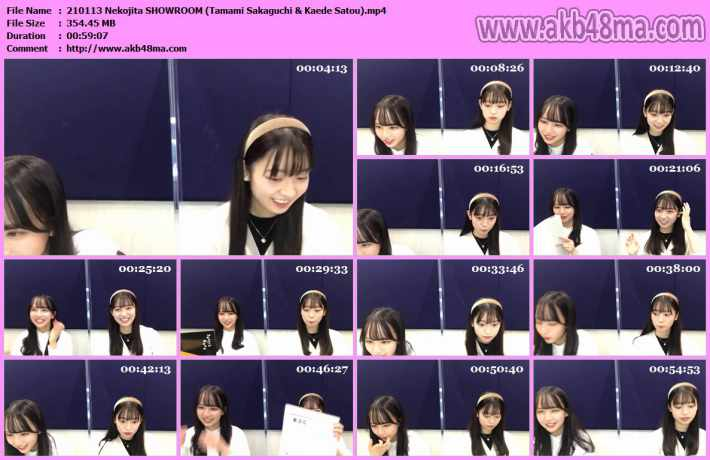210113 Nekojita SHOWROOM