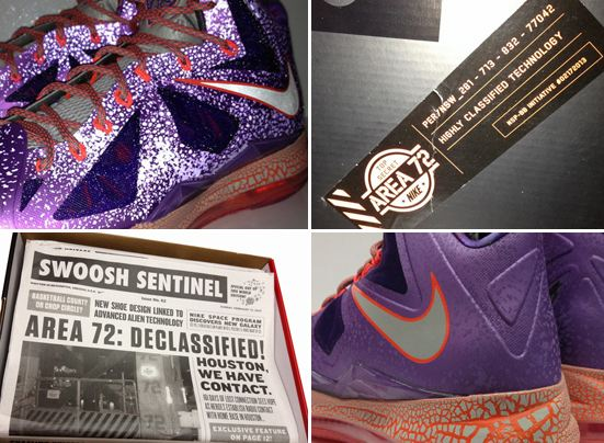 "0bd8d9139466f3 ... AirKnight of the upcoming Nike LeBron X ""Extraterestrial All-Star""  Sneaker"
