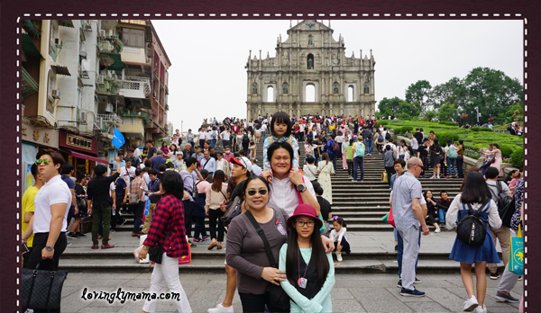 DIY Hong Kong Tour Itinerary - Hong Kong family tour - visit Hong Kong - Macau attractions - Ruins of St. Paul