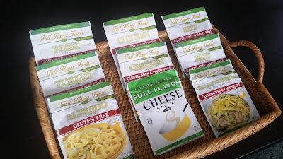Assortment of Full Flavor Foods gluten free sauces