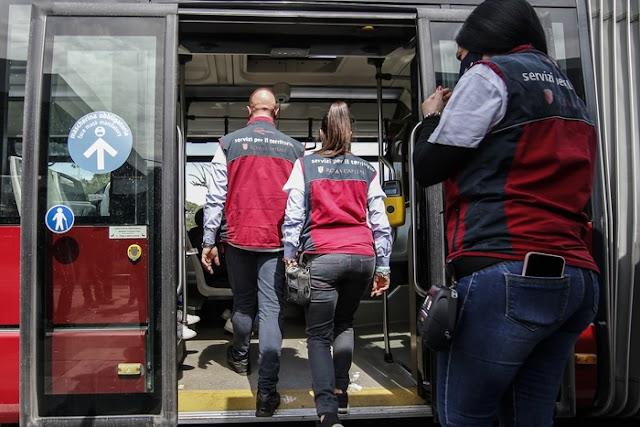 Trasporti Lazio, controlli anti-Covid sugli autobus a campione: dubbi e proposte