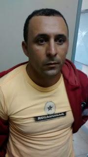 Albergado é preso em flagrante, em Barra de Santa Rosa