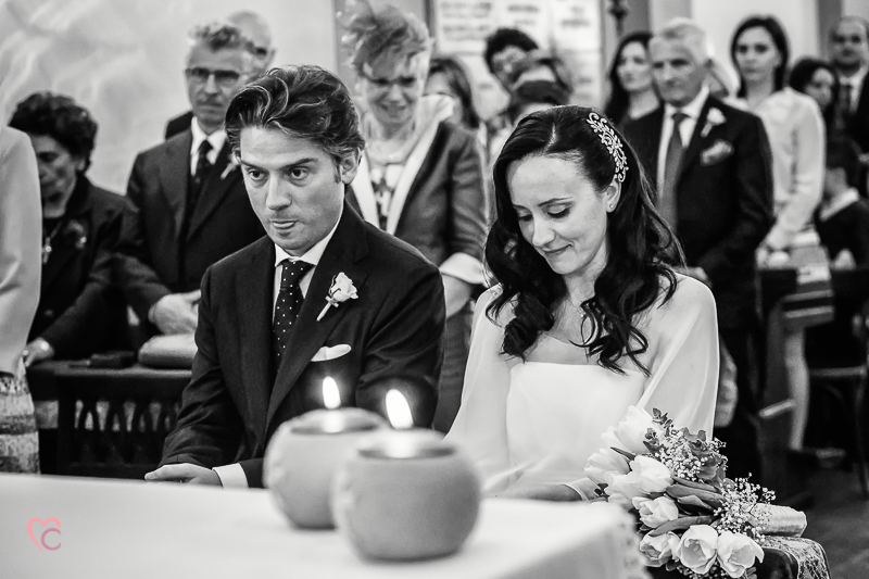 Matrimonio di alessia e fabio, cerimonia