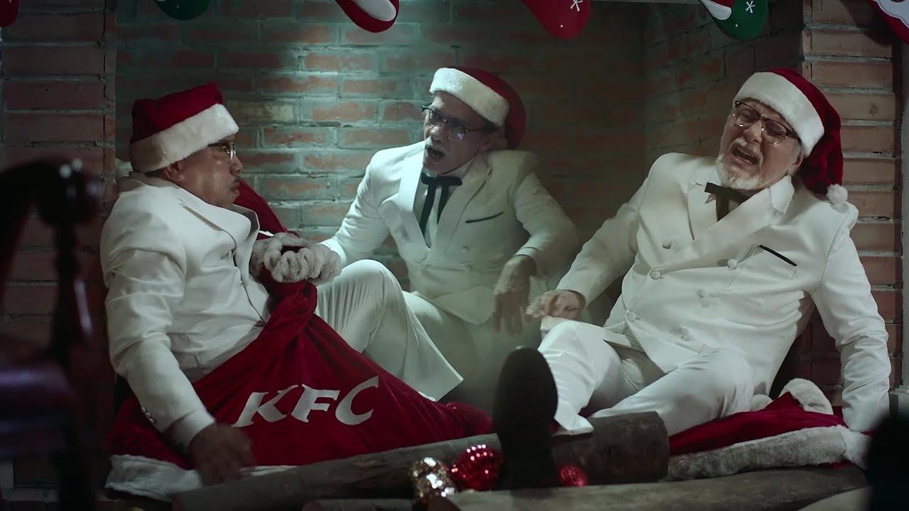 KFC\' Colonel\'s Christmas Feast Commercial