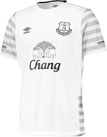 44555b764 Everton 15-16 Kits Released - Footy Headlines