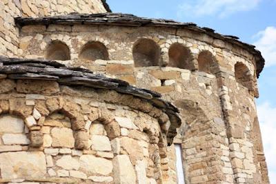 Abside de la Colegiata de Santa Maria de Mur