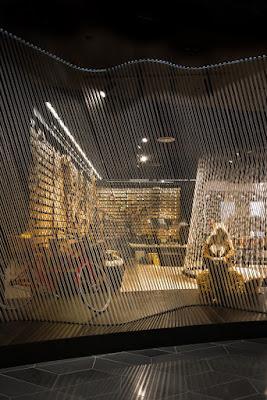 Green Pear Diaries, Yellow Earth, flagship store, Emporium, Melbourne, tienda insignia, interiorismo, retail