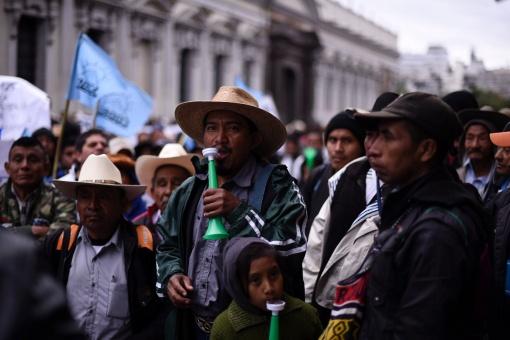 Recorte presupuestario condena a los campesinos de Guatemala