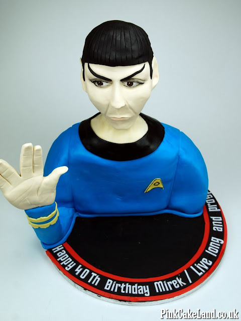 Star Trek Cake London
