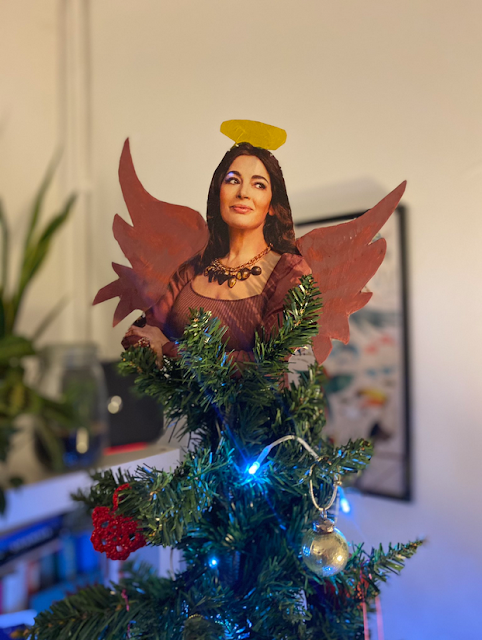 The fairy at the top of the tree