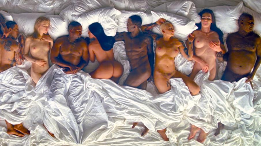 O dia em que a internet foi quebrada por Kim Kardashian, Kanye West e Taylor Swift.