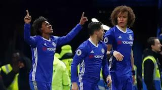 Kalahkan Stoke City, Chelsea Samai Rekor Arsenal