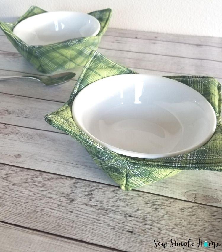 Bowl Cozy Microwave Cozy Microwave Bowl Cozies Set of 2 Microwave Bowl Cozies