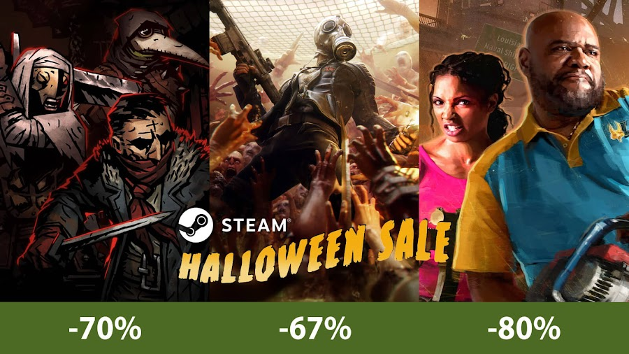 steam halloween sale 2018 darkest dungeon killing floor 2 l4d2