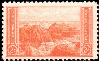 1934 2c Grand Canyon, Arizona