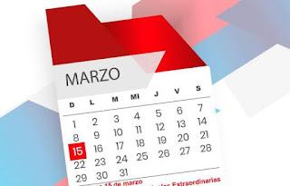 Resultado de imagen de Ministerio de Trabajo: domingo 15 de marzo es feriado.