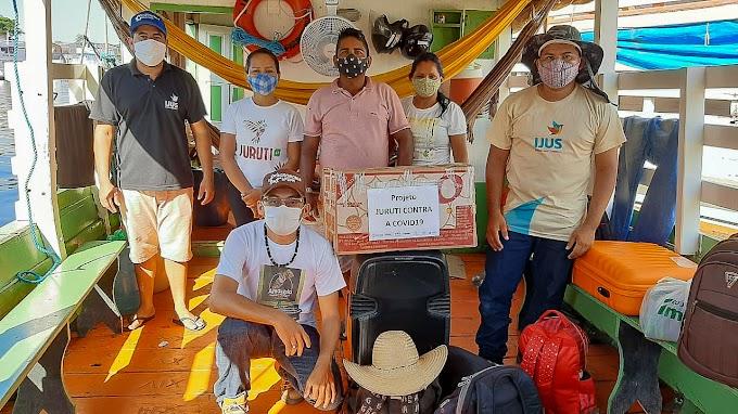 Ações humanitárias potencializam as ações de combate a pandemia em Juruti