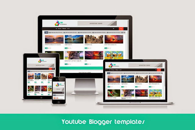 Youtube Blogger templates