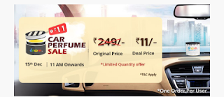 249-/Rs. Car Perfume Get only for ₹ 11/- December 15