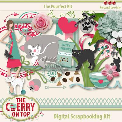 Free Scrapbooking Kit