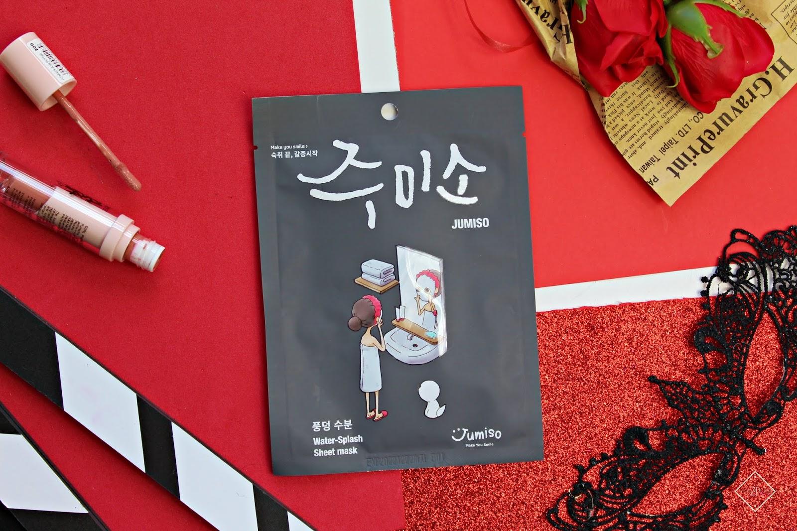 HELLOSKIN JUMISO WATER SPLASH SHEET MASK 26ML– nawilżająca maska w płachcie
