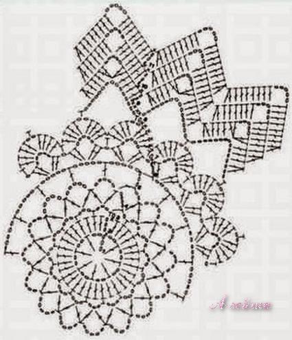 Crochet: MOTIVES NAPKINS OR SMALL CROCHET KNIT