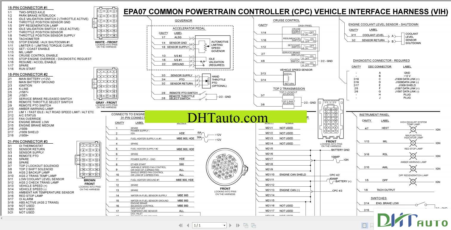 DETROIT WIRING DIAGRAMS FULL  Automotive Library