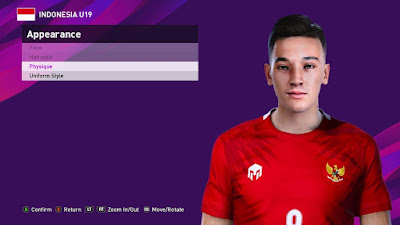 PES 2021 Faces Jack Alan Brown by Rachmad ABs