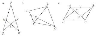 satu pasangan segitiga kongruen