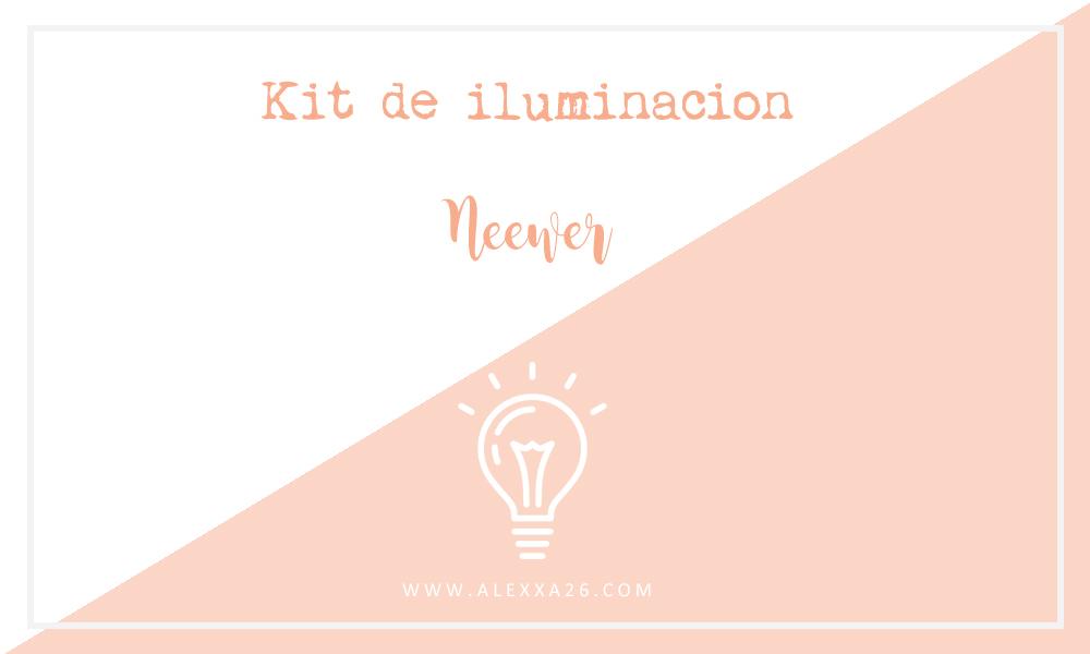 Kit de iluminación continua para estudios de Neewer