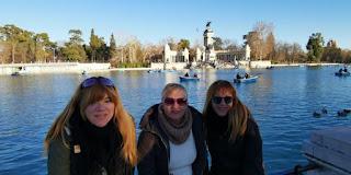 El Estanque Grande de El Retiro, Madrid.