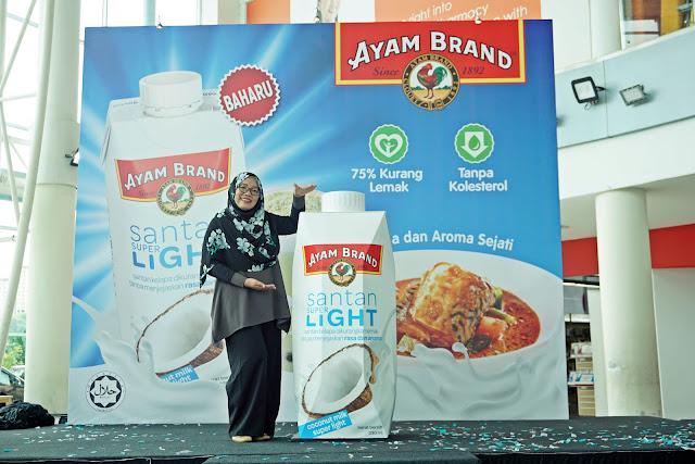 Ayam Brand™  Perkenal Santan Super Light 75% Kurang Lemak