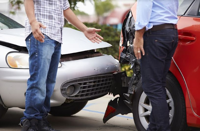 how to determine fault vehicle crash negligence car accident
