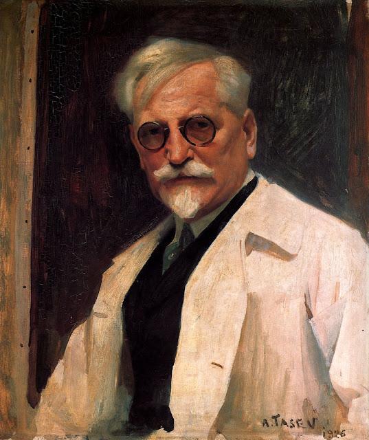Альфонс Муха - Портрет А. Тачева. 1926