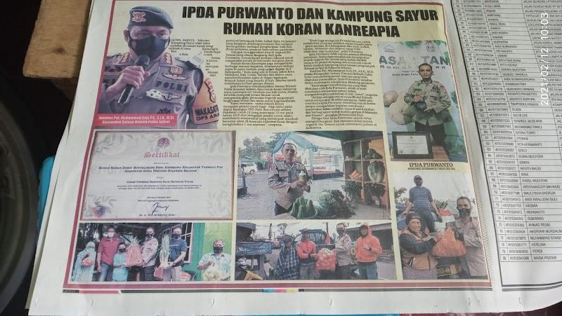 Kampung Sayur di Koran Rakyat Sulsel