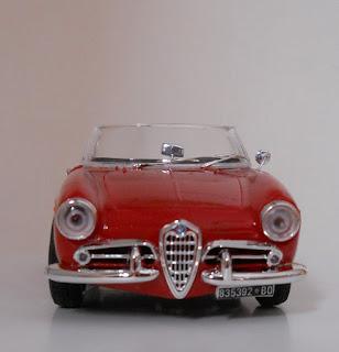 Italieri Alfa Romeo Giulietta Spider 1300 scale model