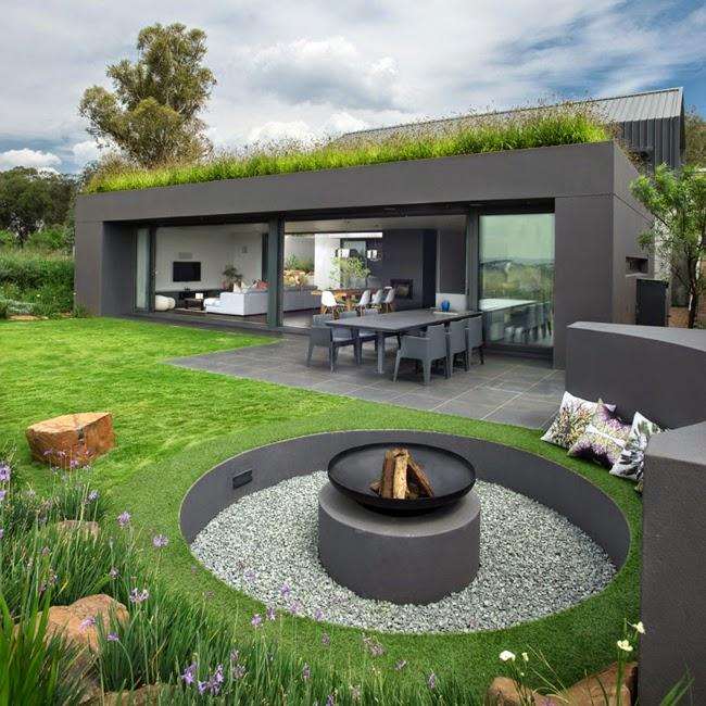 Casas Minimalistas y Modernas: Casa Moderna en la Naturaleza