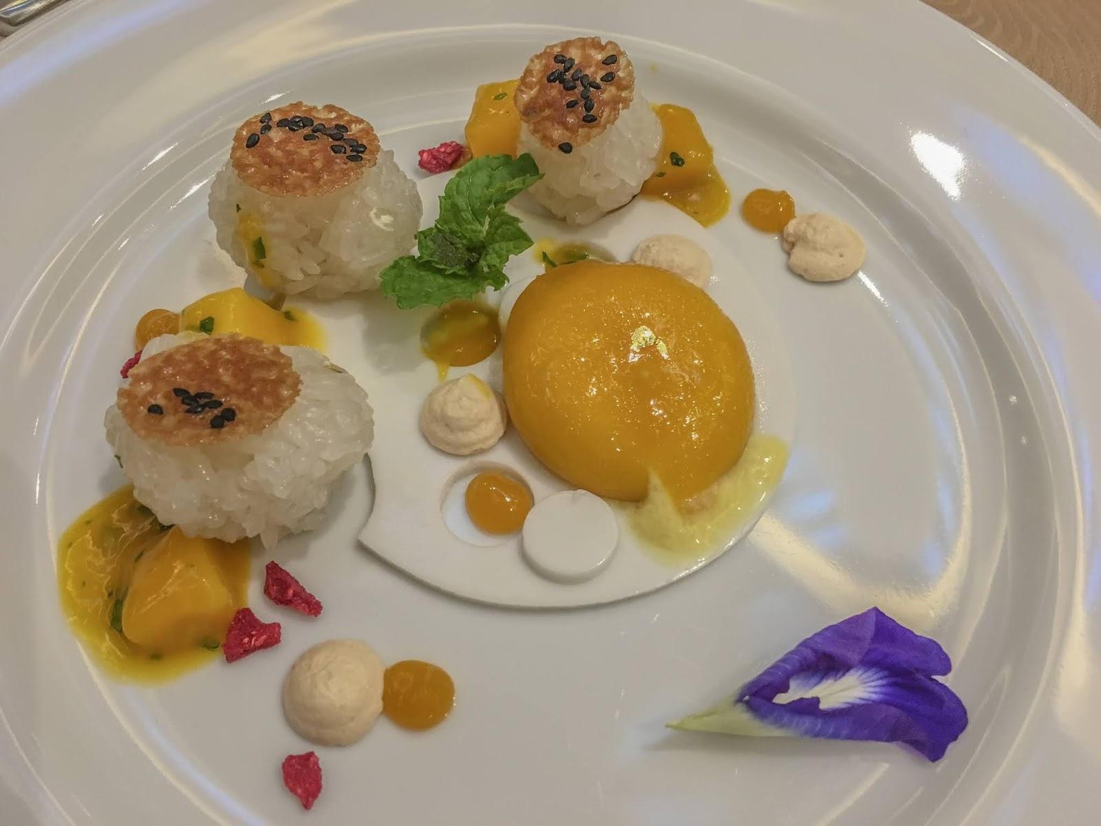 Dusit Thani Mactan dessert MActan Sunset