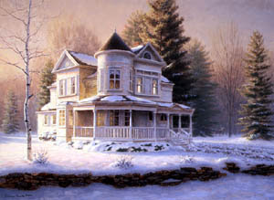 Victorian House by Richard Burns